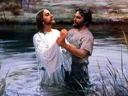 Jesus Christ is Baptized by John the Baptist